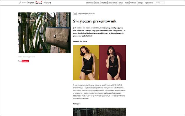 JOHN AND MARY - Publikacje - label-magazine